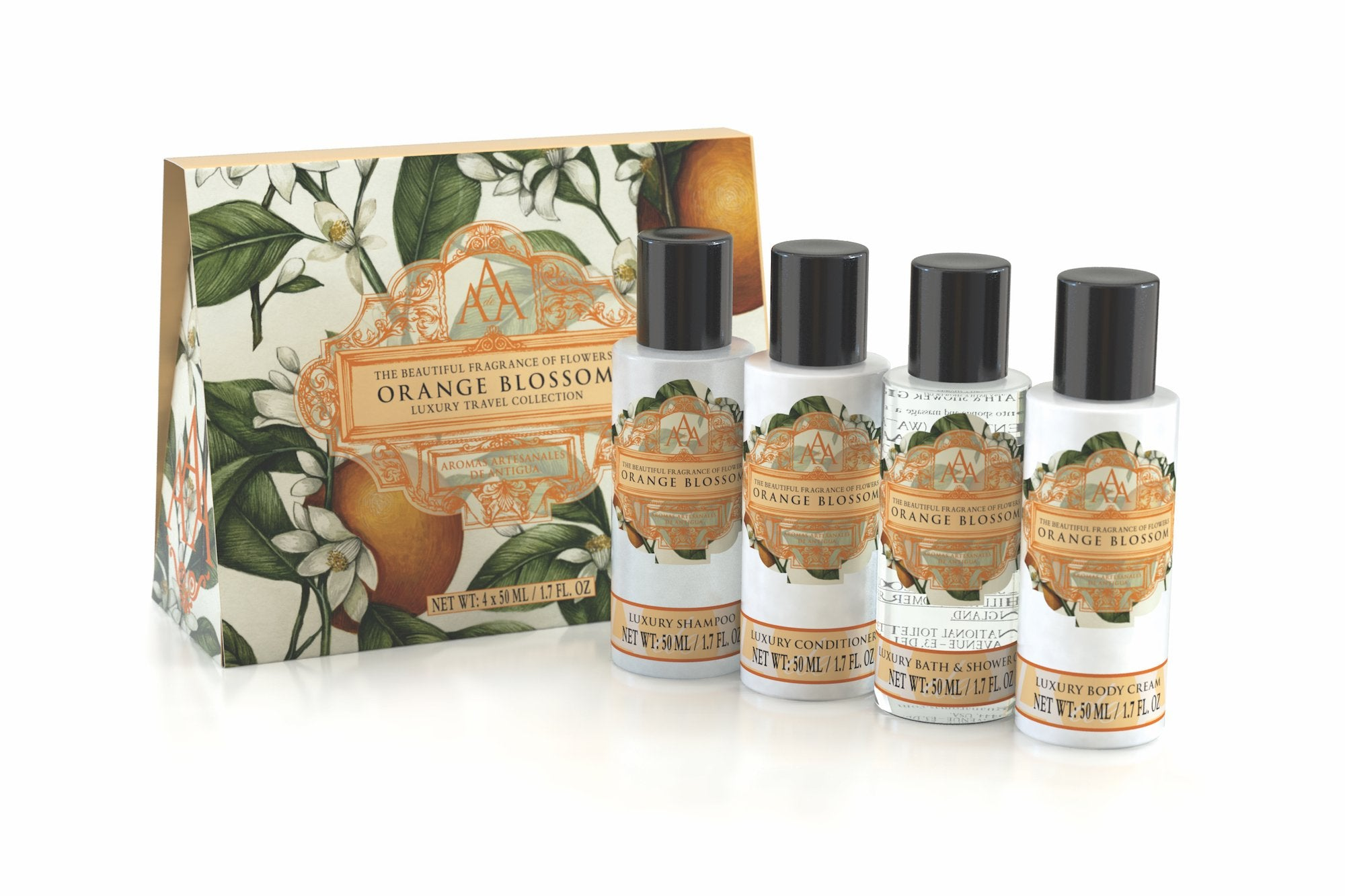 AAA Floral Travel Set