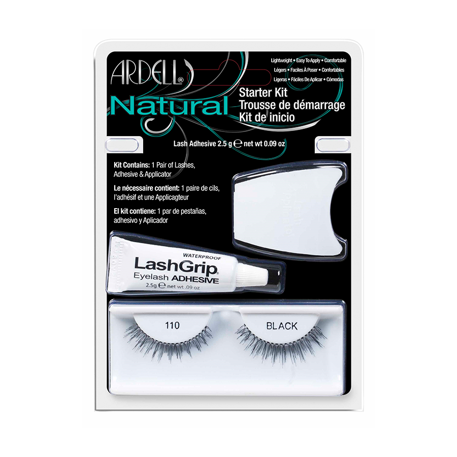 Natural Lashes Starter Kit 110 - Black