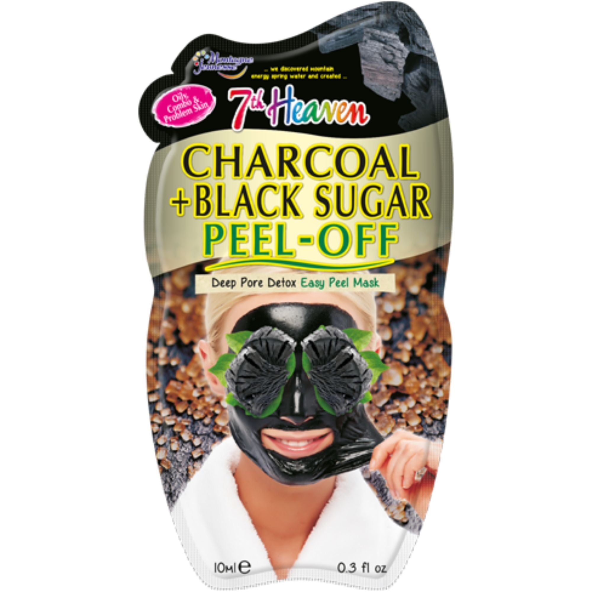 Charcoal & Black Sugar Peel-Off Mask