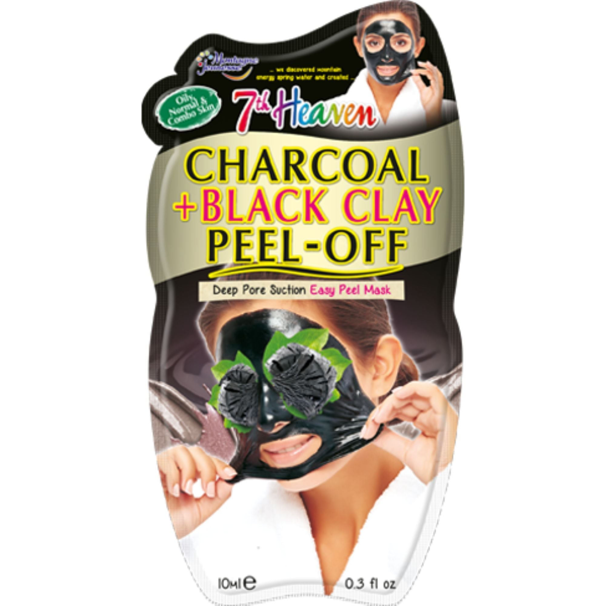 Charcoal & Black Clay Peel-Off Mask