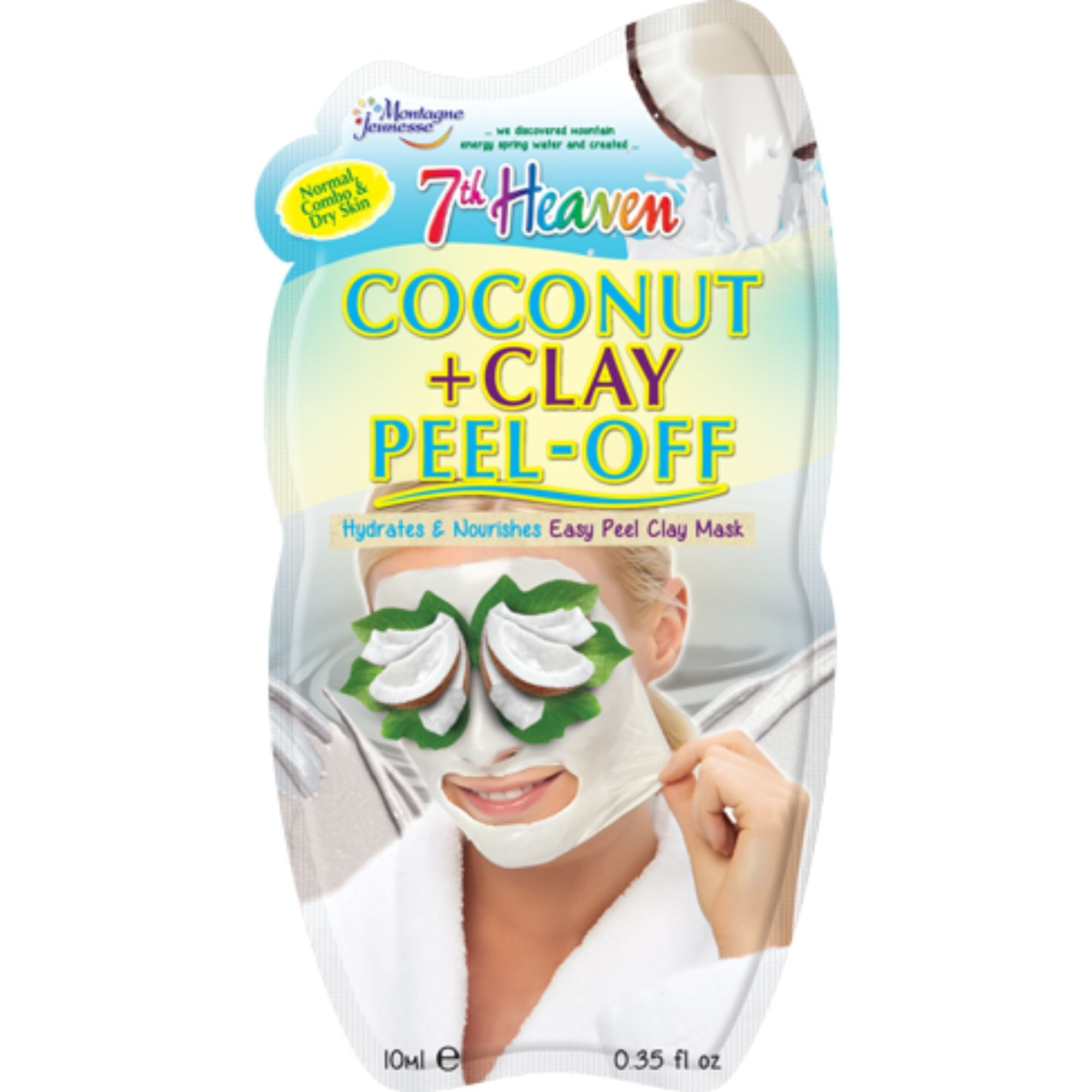 Coconut & Clay Peel-Off Mask