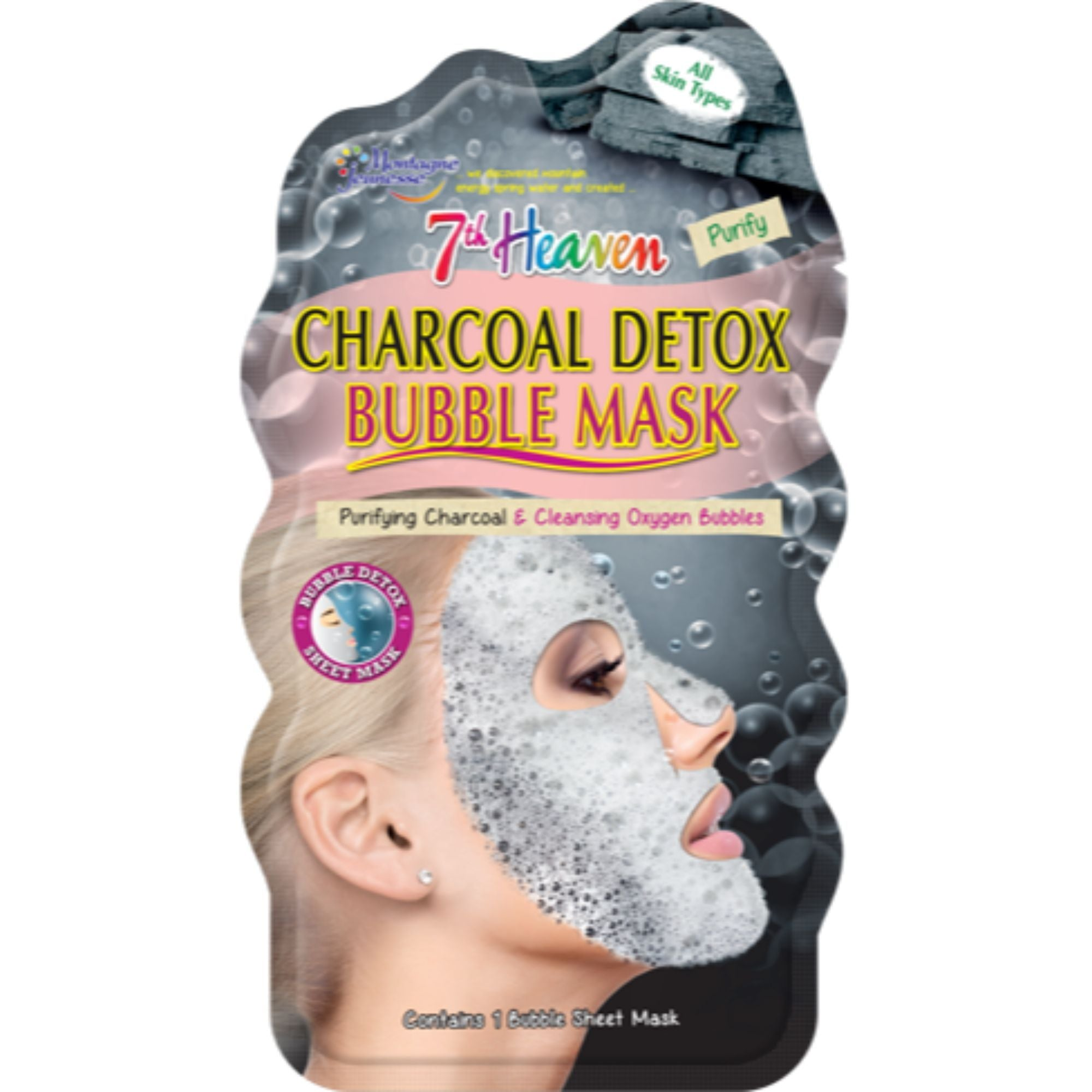 Charcoal Detox Bubble Mask