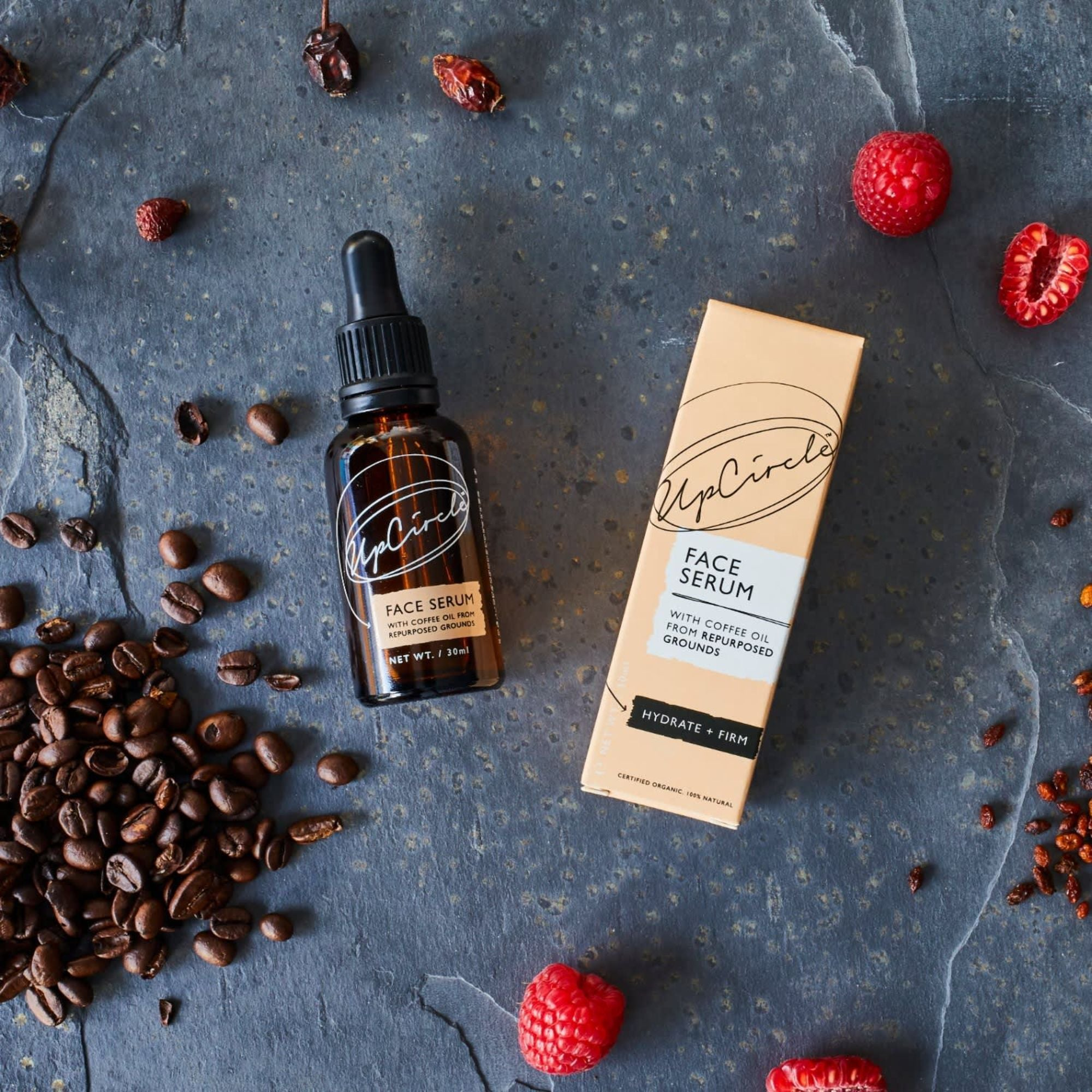 Organic Facial Serum with Coffee Oil