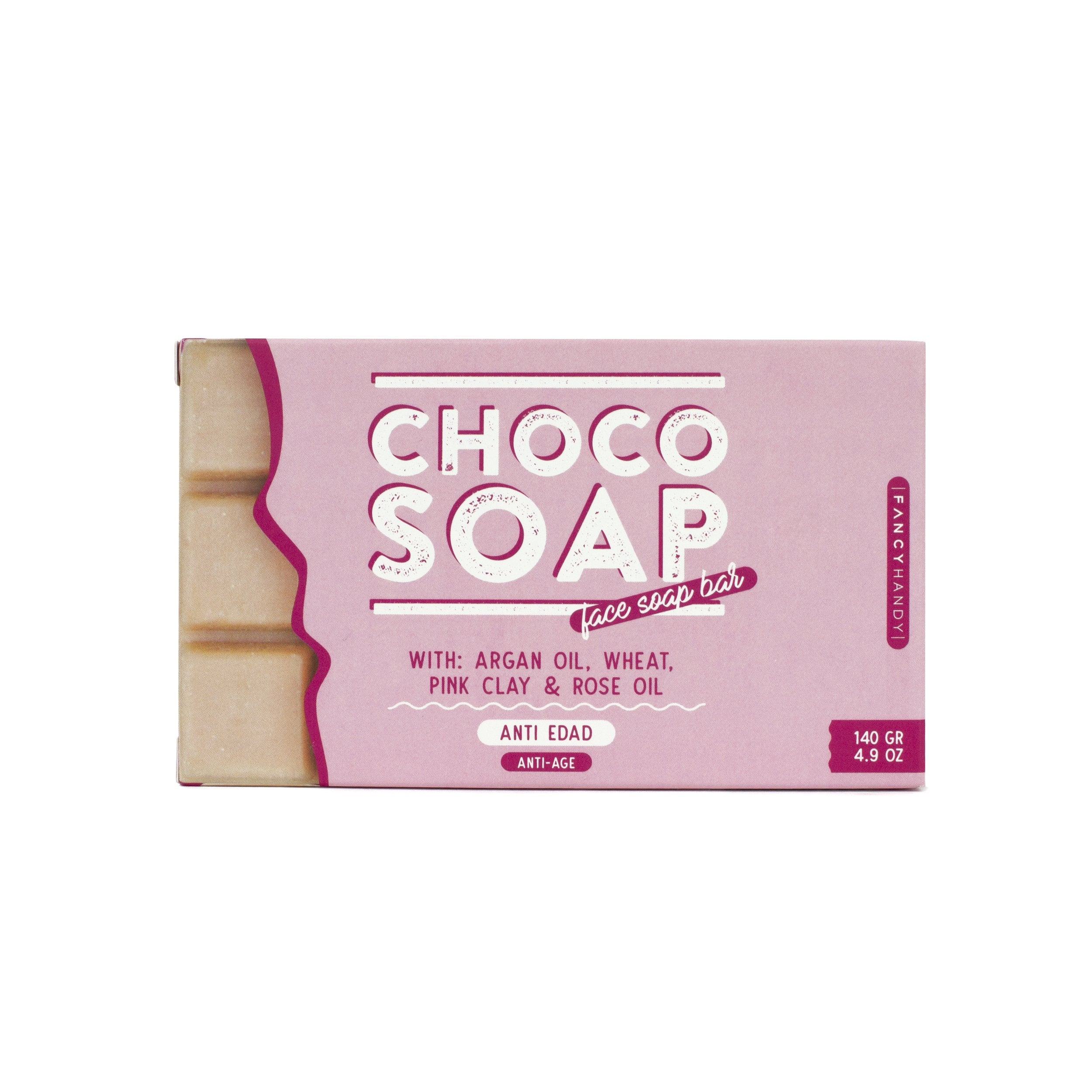 Choco Soap Pink Clay Anti-Age