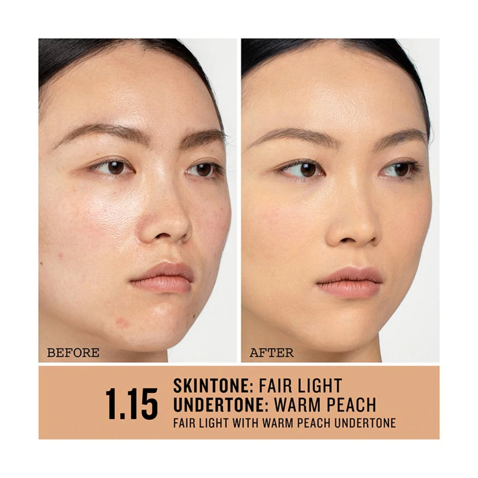 1.15 Fair-Light, Warm and Peachy