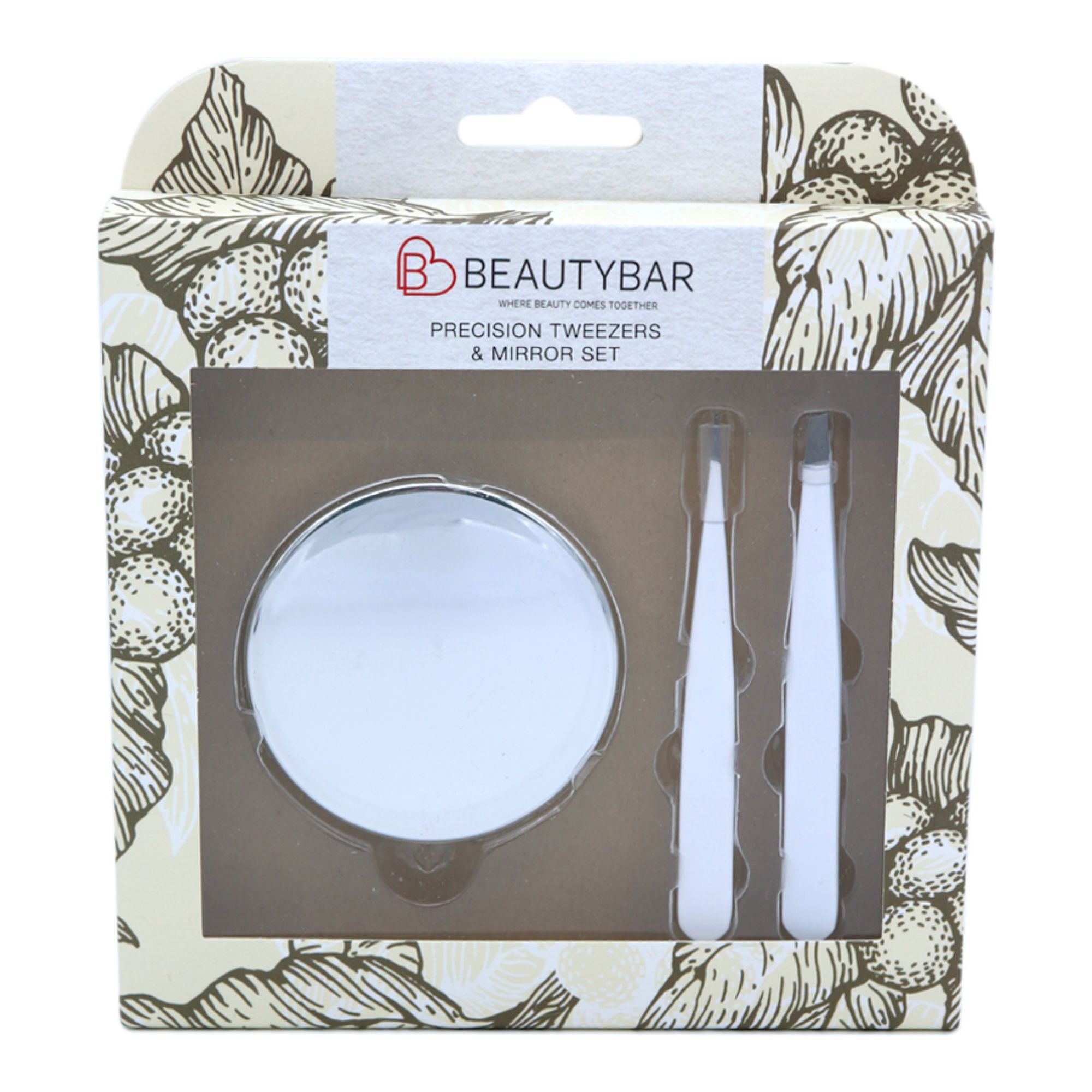 Tweezers and Mirror Set