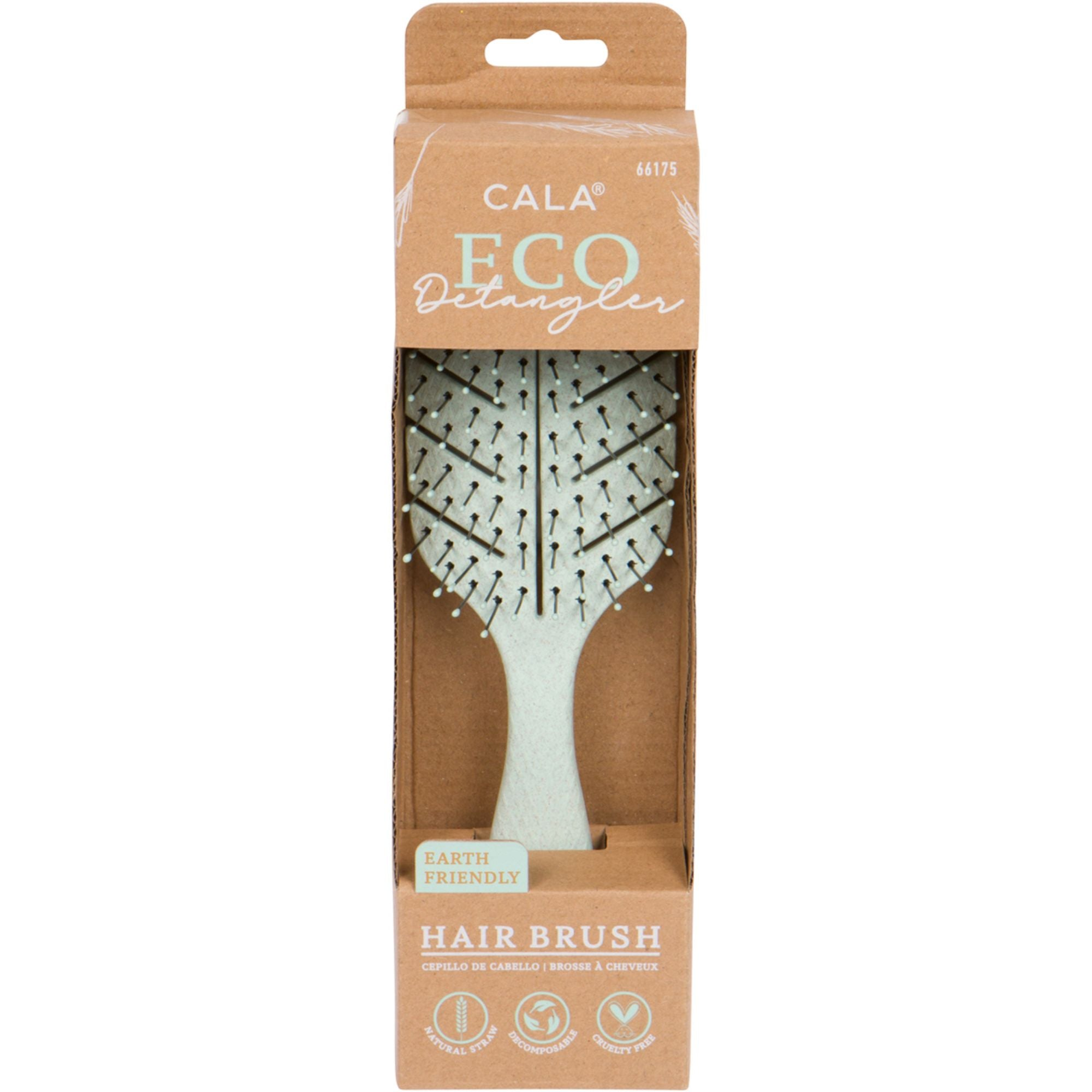 Eco Detangler Brush: Sage