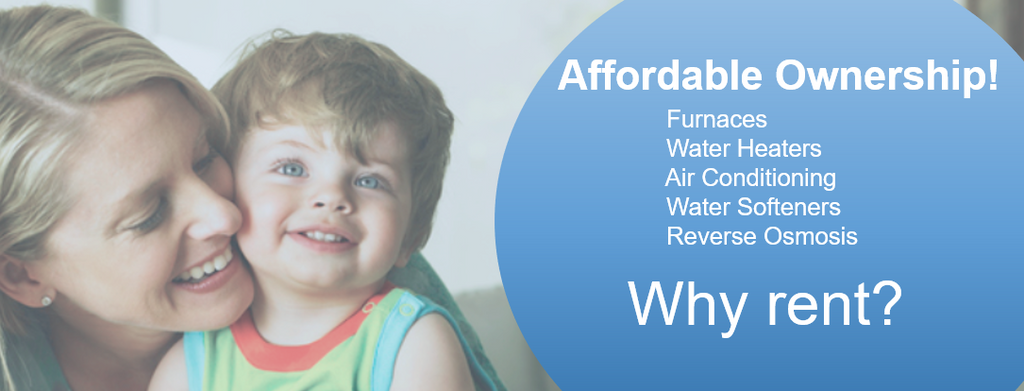why rent a water heater ontario soft water