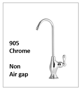 A Traditional Style Reverse Osmosis Faucet Shiny Chrome Non Air Gap