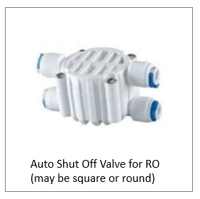 Auto Shut Off for Reverse Osmosis