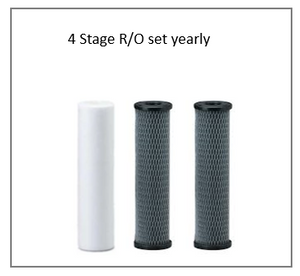 STANDARD or GRO Reverse Osmosis Replacement Filter Set Yearly