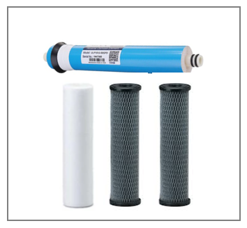 STANDARD RO Filter Replacement Pack with 75 Membrane