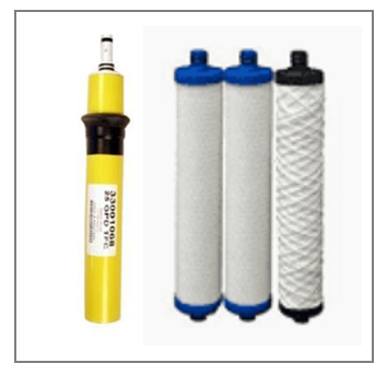 Hydrotech, Novatech, Filter and Membrane Set