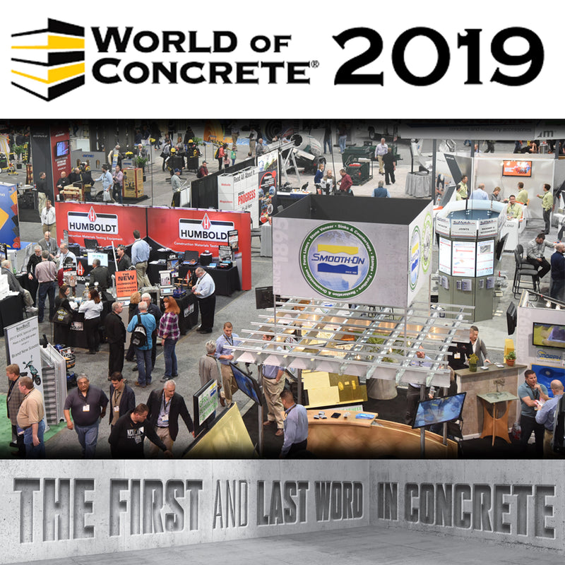 2019 World of Concrete Show - the first and last word in concrete
