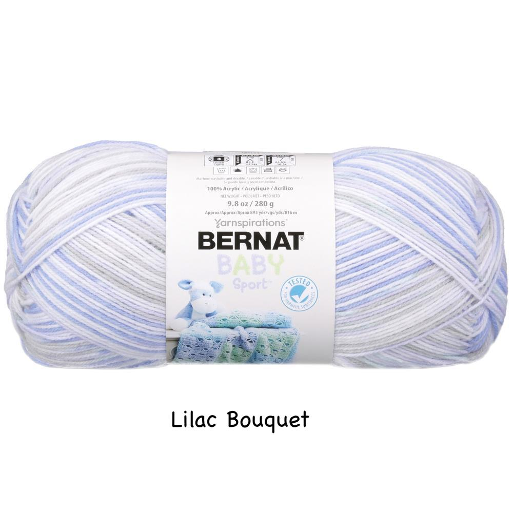 Bernat Baby Sport Big Ball Yarn - Solid Colours & Ombres