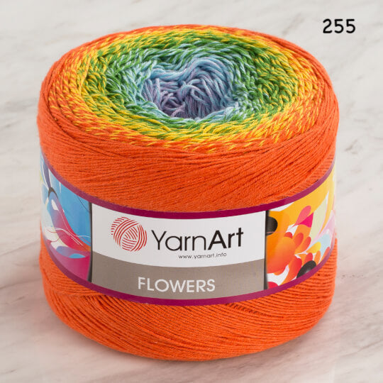 Yarn Art Flowers