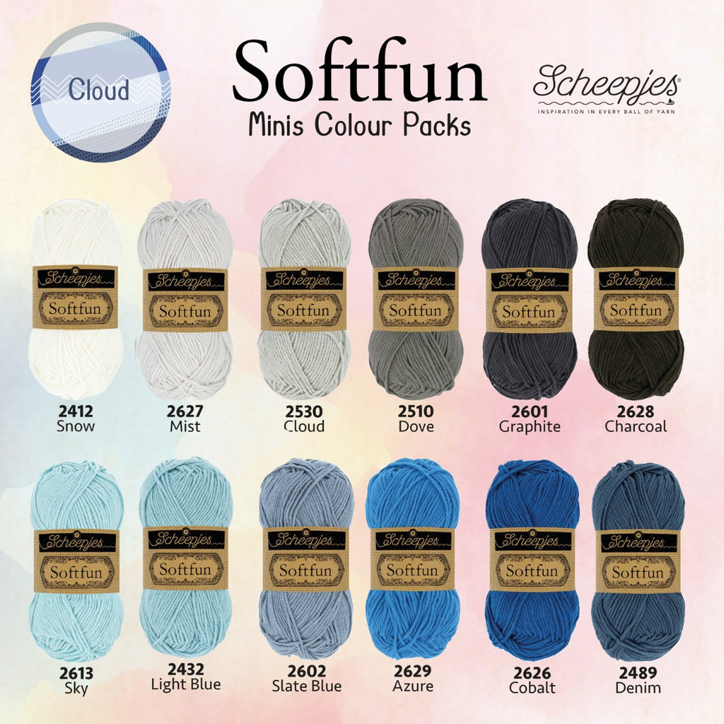 Scheepjes Soft Fun Colour Packs