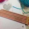 Crochet Pencils - Set of 6