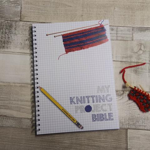 My Knitting Project Bible
