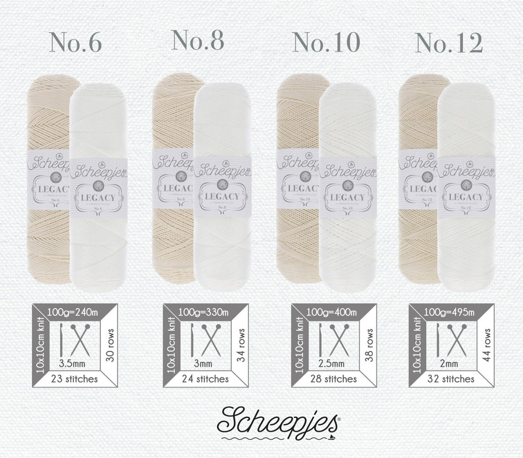 Scheepjes Legacy Mercerised Cotton