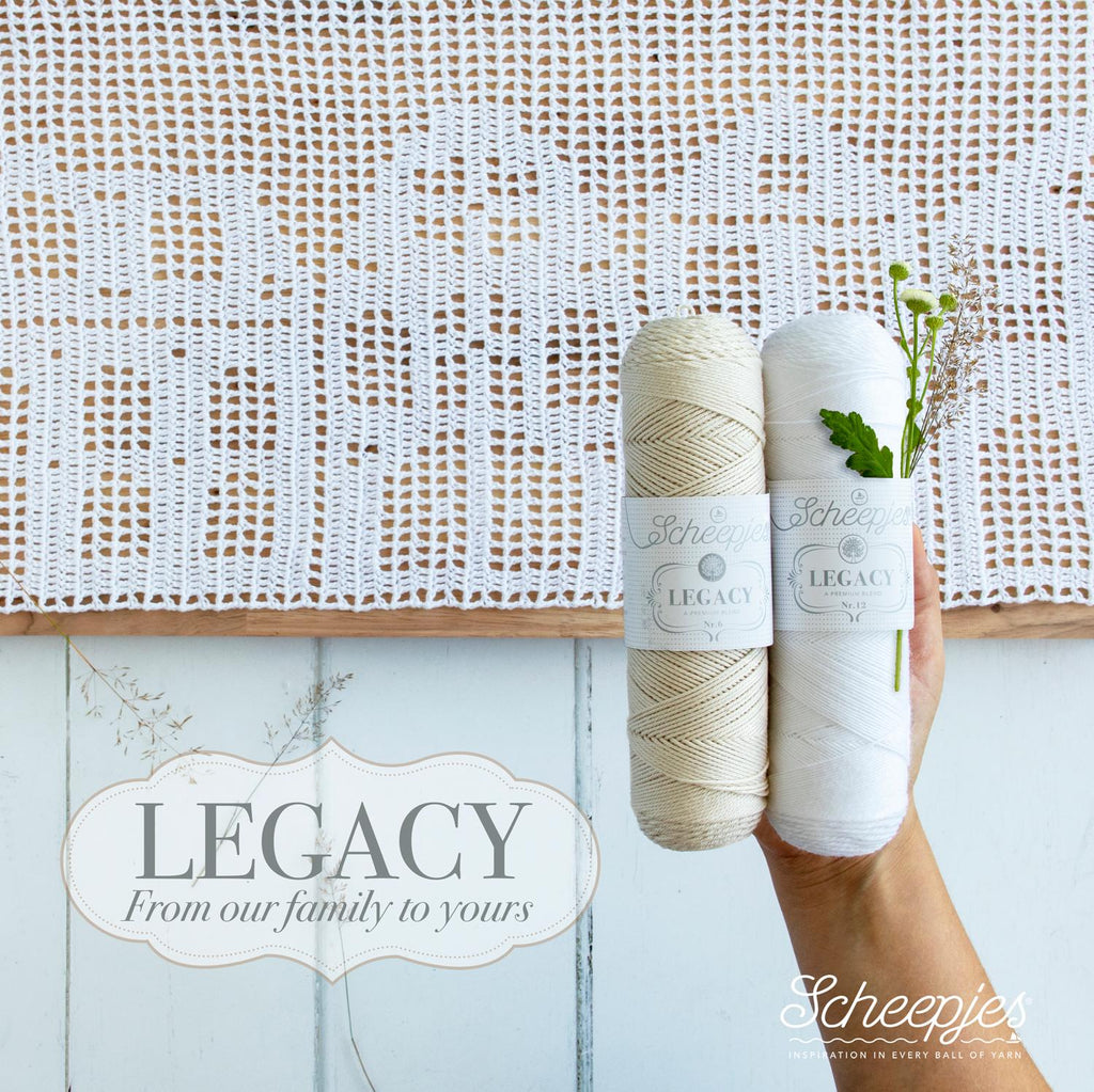 Scheepjes Legacy Natural Cotton