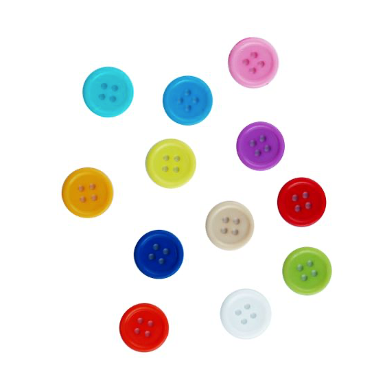 Assorted Acrylic Buttons