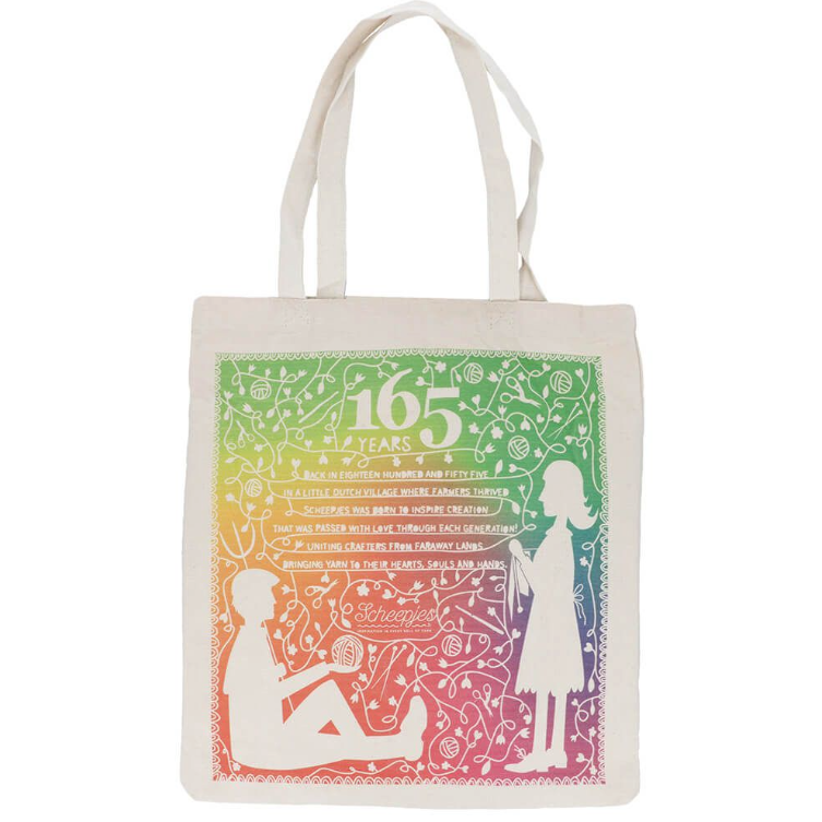Scheepjes Canvas Bag 165 Years