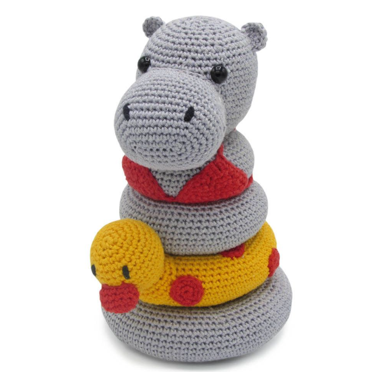 Hardicraft Crochet Amigurumi Kit - Helga Hippo