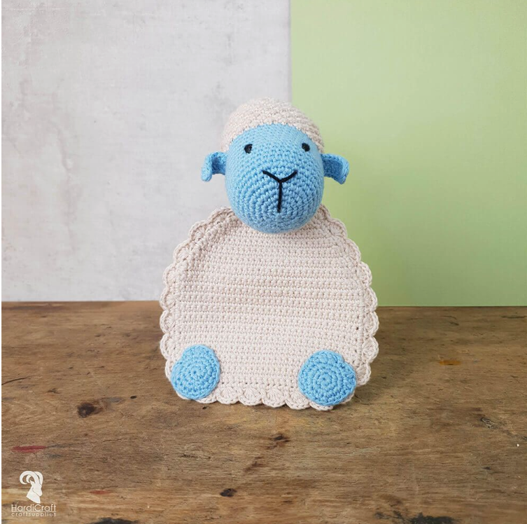 Hardicraft Crochet Eco Friendly Amigurumi Kit - Lola Lamb