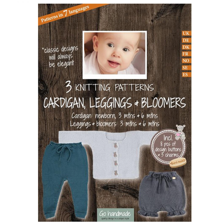 Go Handmade Pattern Pack - Cardigan, Leggings & Bloomers!