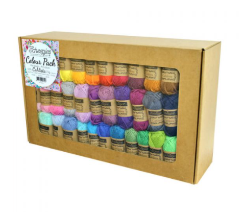 Scheepjes Cahlista Colour Pack 109x15 grams