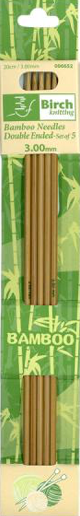 Double Ended Bamboo Needles