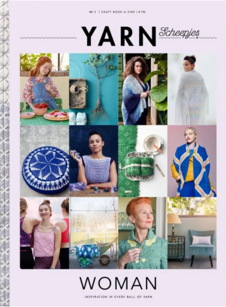Scheepjes Yarn Bookazine 5 - Woman