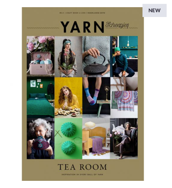 Scheepjes Yarn Bookazine 8 - Tea Room