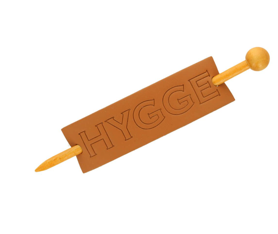 Hygge Shawl Pin - Leatherette