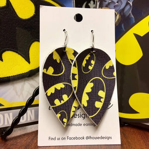 Batman Earrings