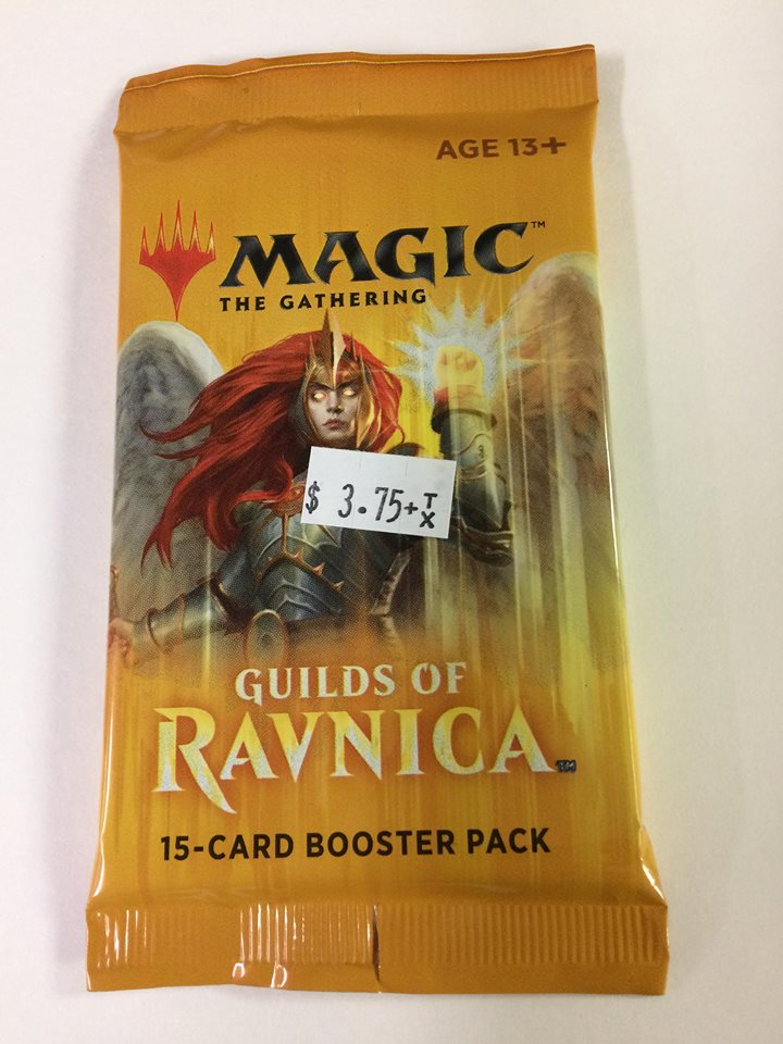 Magic the Gathering: Guilds of Ravnica 15-card booster pack