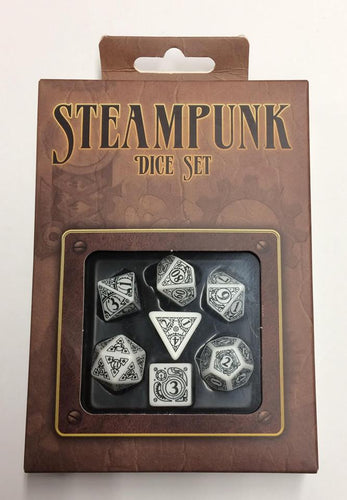 Steampunk Dice Set