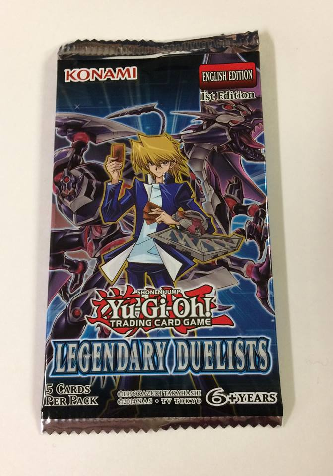 Yu-Gi-Oh! TCG Legendary Duelists 1st Edition 5-Card Pack
