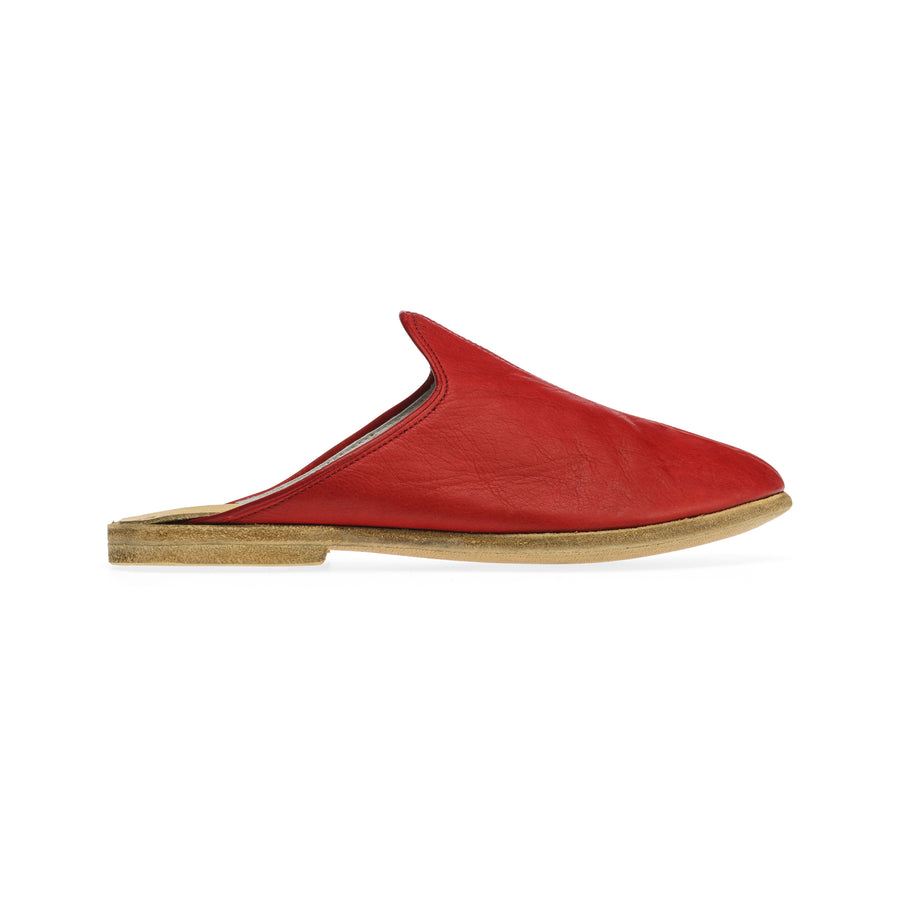 Red Baboosh - Ede Shoes