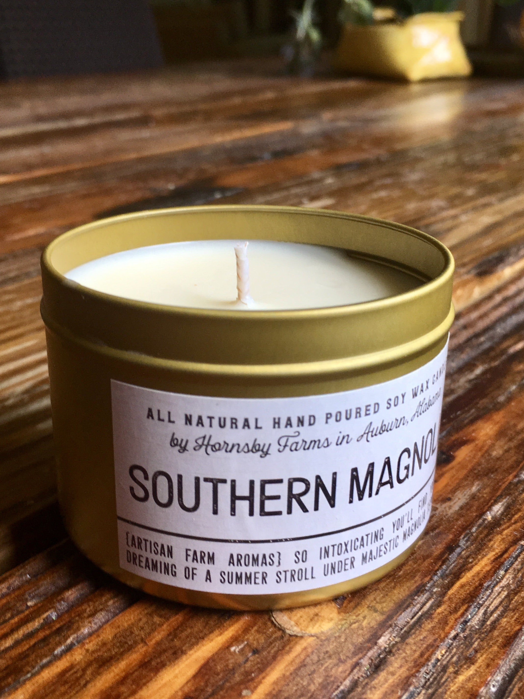 Southern magnolia Soy Candle