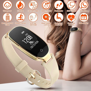 Luxe Women's Smart Watch For Androids