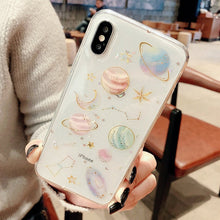 Load image into Gallery viewer, Luxury Glitter  Space Planet Phone Case