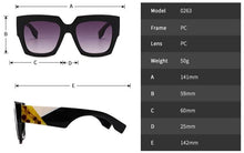 Load image into Gallery viewer, Chunky Rectangle Acetate Luxury Shade - Kazzi Boutique