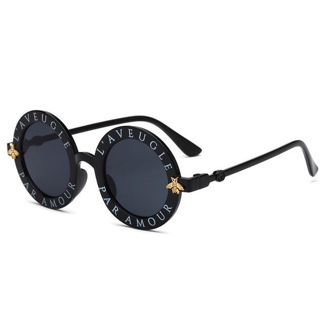Kids Luxury Vintage Children Sunglasses - Kazzi Boutique