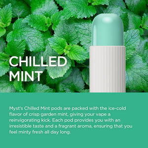 Chilled Mint - Myst G1 Disposable E-cigarette