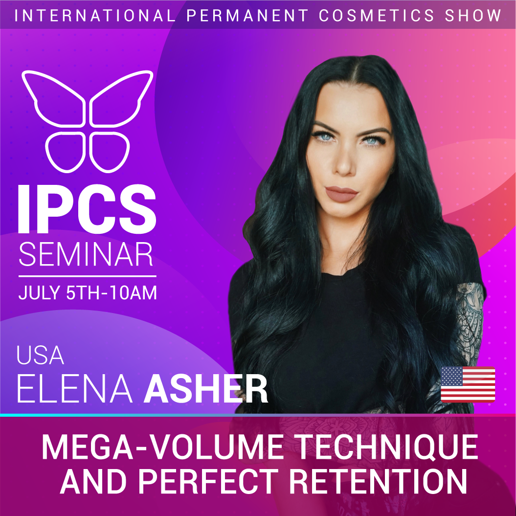 Elena Asher - Mega-volume Technique and perfect retention