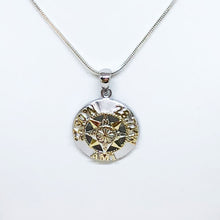 Load image into Gallery viewer, AMI Compass Rose Pendant with Island Coordinates