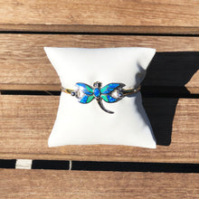 Load image into Gallery viewer, Multi Color Opal Dragonfly Topper