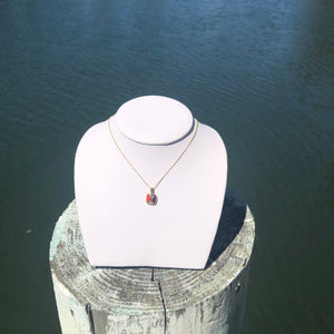 Mixed Mother of Pearl and Spiny Oyster Necklace